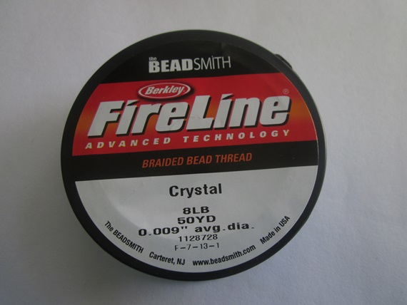 Fireline Crystal 8-Pound Test. 50yd Spool