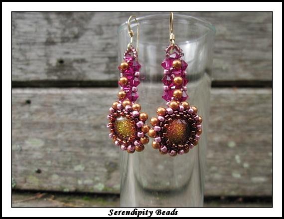 Antique Garden Earrings