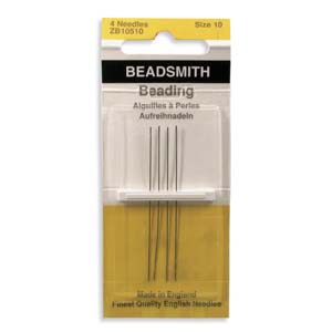 Needles Beading - John James #10 4 Pack