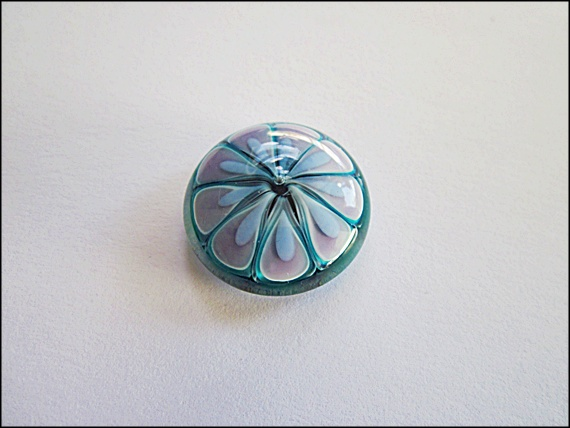 Turquoise Lilac Cabochon