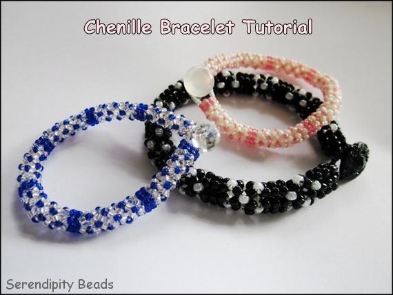 Chenille Herringbone Bracelet