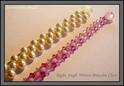 2 Needle Right Angle Weave Bracelet