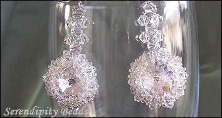 Swarovski Crystal Rivoli Earrings