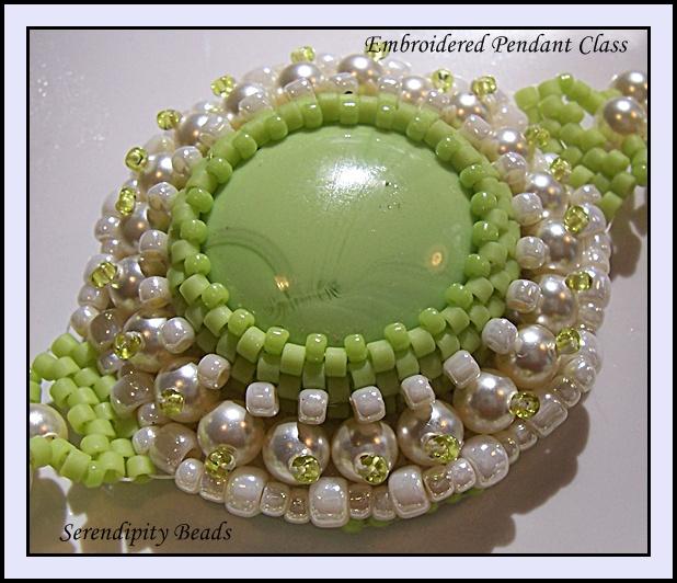 Basic Bead Embroidery Class