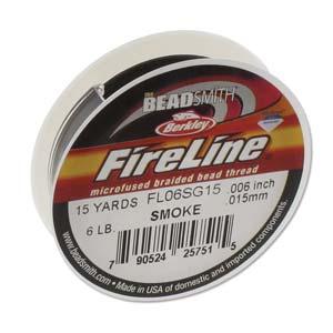 Fireline Smoke Grey 15yrd 6lb