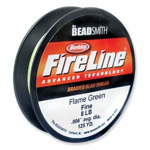 Fireline Flame Green 125yrd 8lb