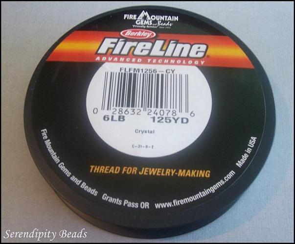 Fireline Crystal 6-Pound Test. 125yd Spool