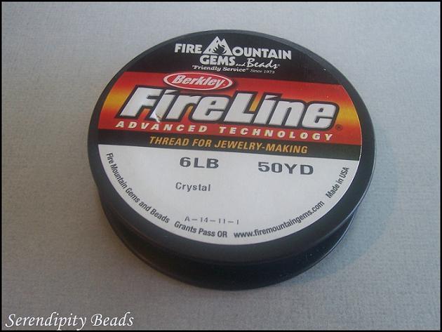 Fireline Crystal 6-Pound Test. 50yd Spool