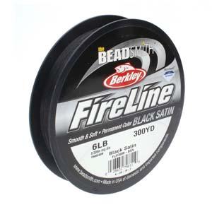 Fireline Black Satin 6lb 300yrd