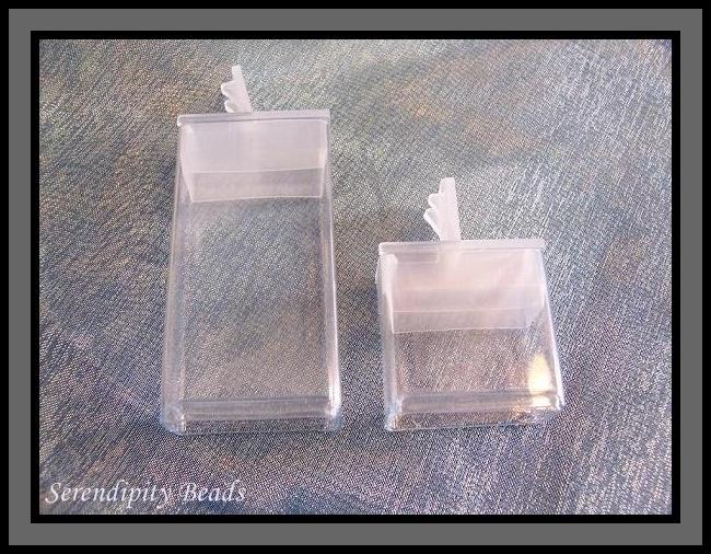 Flip Top Seed Bead Storage 1.5 inch