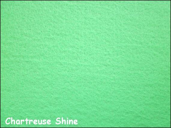 Nicoles Bead Backing - Chartreuse Shine