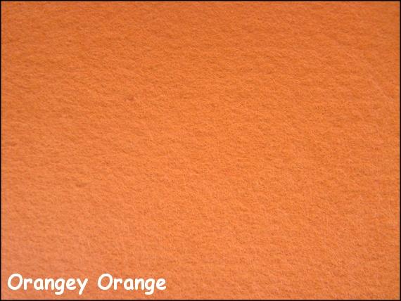 Nicoles Bead Backing - Orangey Orange