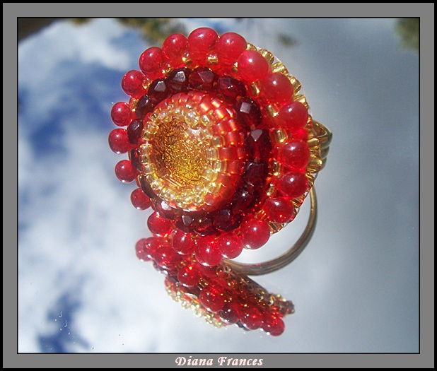 Regal Red Ring