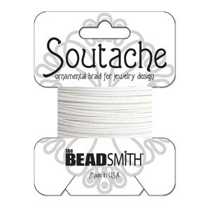 Soutache Rayon - Snow (White) - ST1670