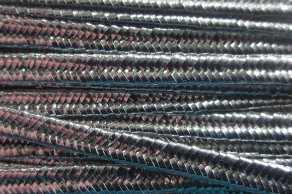 Soutache Rayon - Silver Metallic - ST1090