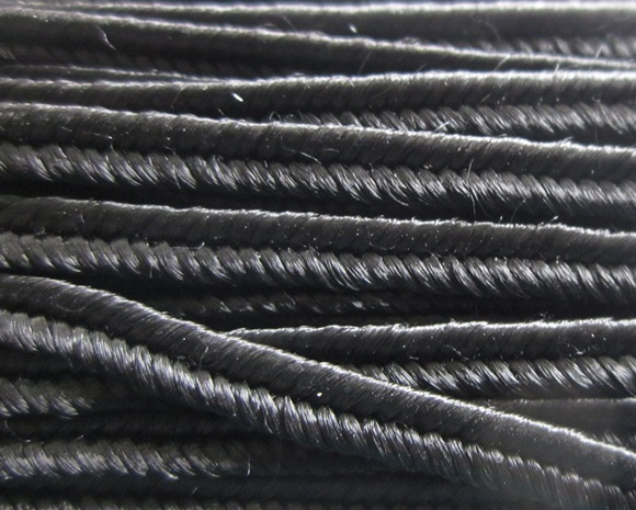 Soutache Rayon - Black - ST1220