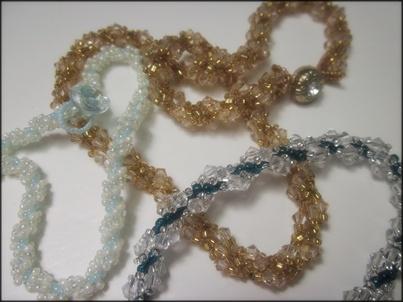 Basic Spiral Stitch Bracelet