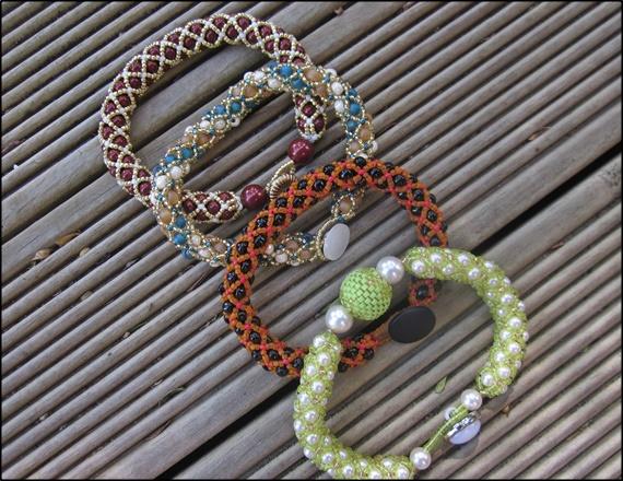 Tubular Netted Bracelet